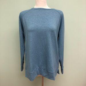 32 Degrees   Women's Long Sleeve Sweatshirt   Blue